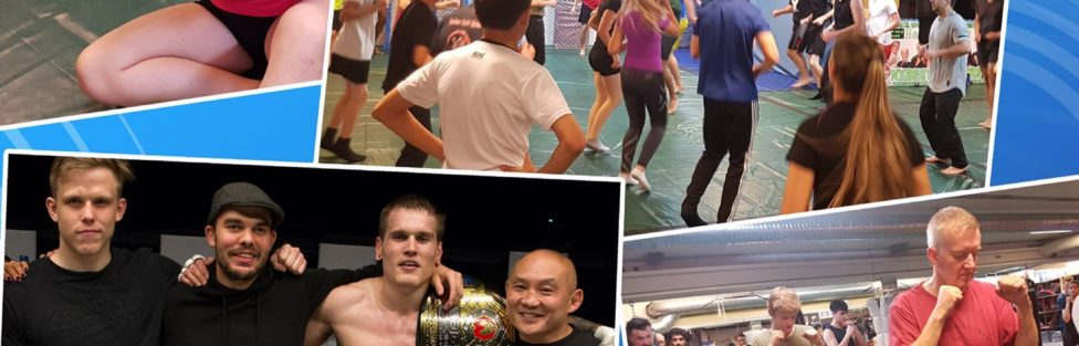 NYBEGYNNERKURS MMA